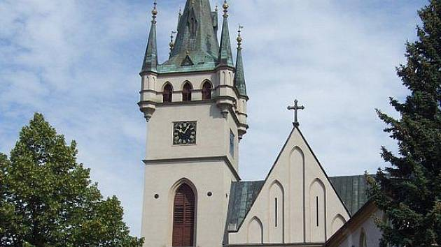 Kostel svatého Mikuláše v Humpolci.