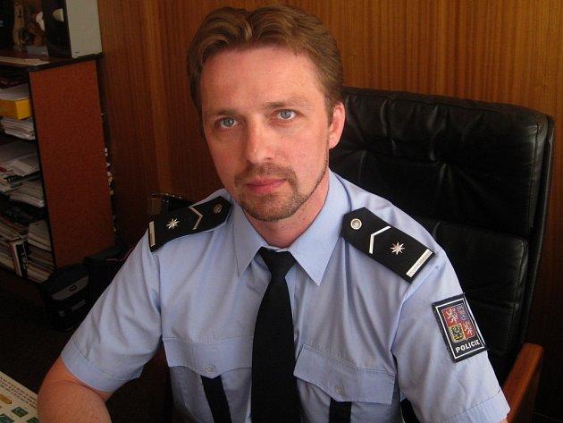 Martin Souček, velitel uniformované policie Pelhřimov