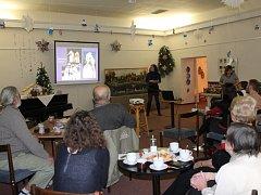Přednáška ve vánočním duchu.