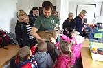 Exkurze v záchranné stanici Pavlov.