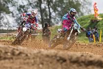 Mezinárodní mistrovství ČR v motokrosu v Pacově.