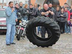 Letos se na Masarykově náměstí uskuteční již sedmý ročník akce žehnání motorek.