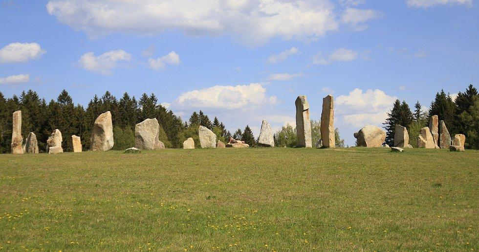 Kamenný kruh druidů.