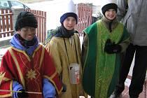 Tři králové dorazili i do Pelhřimova