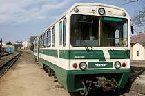 M 27.0. To je typ vozů, který po modernizaci bude vozit cestující na úzkokolejné trati na Pelhřimovsku.