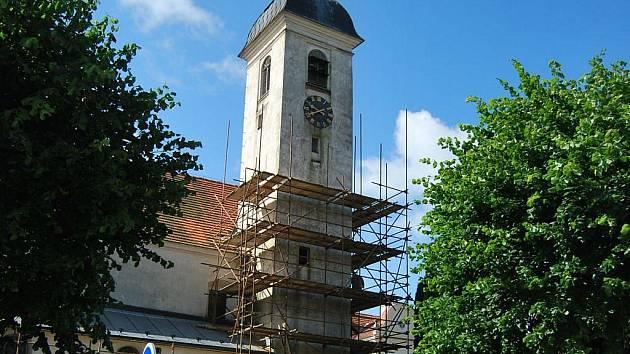 Kostel v Horní Cerekvi.