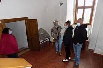 Zahájení sezony na hradě Kámen nedaleko Pelhřimova.