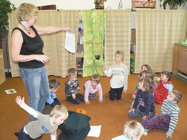 Montessori třída v Mateřské škole v Olešné
