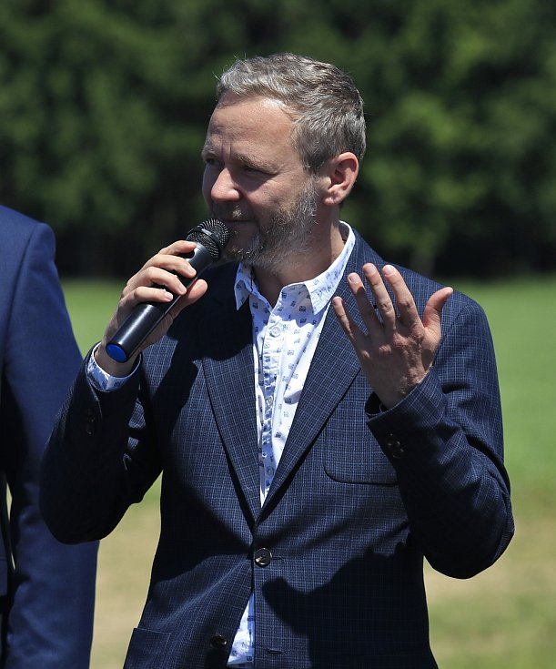 Hejtman Kraje Vysočina Vítězslav Schrek.