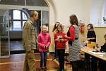 Den otevřených dveří na Gymnáziu a Obchodní akademii Pelhřimov.