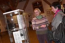 Ve Sladovně je v současné době otevřena výstava píseckého výtvarníka Františka Doubka.