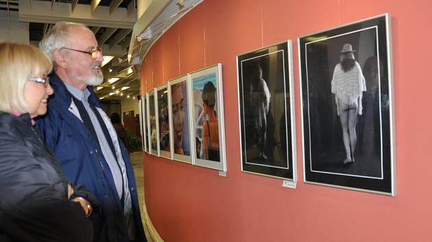 Výstava fotografií v galerii Portyč v Písku.