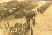 Oslavy výročí v Písku v roce 1923.