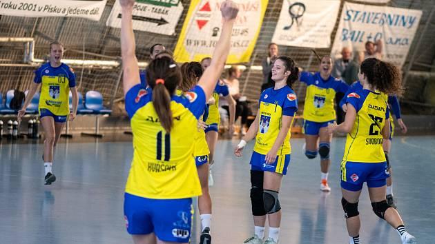 Handball PSG Zlín – Sokol Písek 27:28 (14:16).