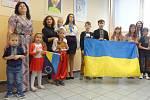 Představení Ukrajiny ve 2. ZŠ J. A. Komenského v Milevsku.