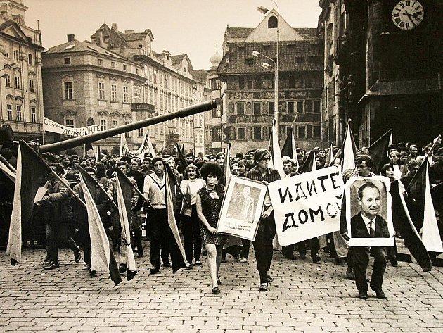 Ve čtvrtek začala ve Sladovně výstava Invaze srpen 1968.