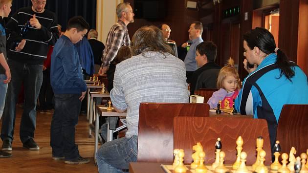 Šachový turnaj O pohár starostky města Písku.