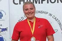 MISTRYNĚ. Kateřina Marková obhájila světový titul v rybolovné technice.