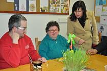 V rámci poslaneckého dne v Písku poslankyně Radka Maxová debatovala se zaměstnanci sociálních zařízení a s občany o problémech v sociální oblasti.