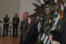 Výstava ve Špejcharu v Ražicích.