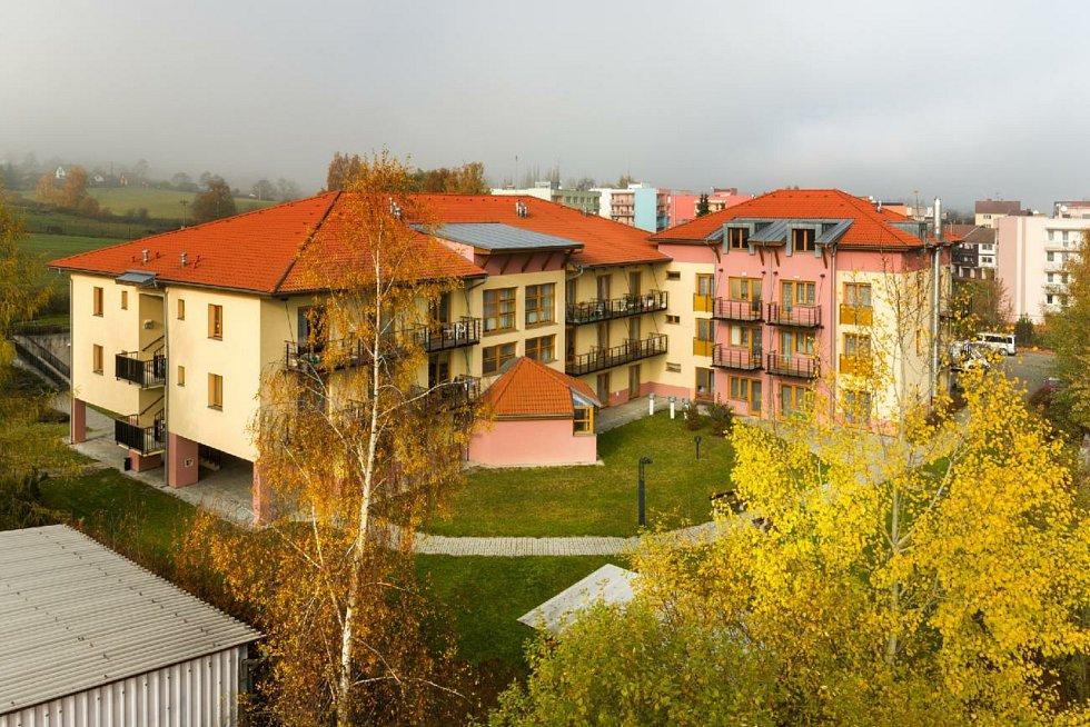 Nová podoba domova pro seniory v Milevsku.
