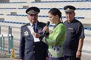 Krajská soutěž v požárním sportu 2018 v Písku