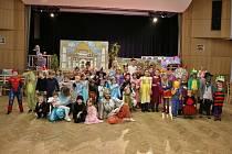 Dětský karneval v Sepekově.