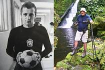 Bývalý fotbalový brankář Jan Pavlíček propadl fotografování.