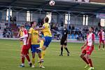FC Písek - FC Slavia Karlovy Vary 3:0 (3:0).