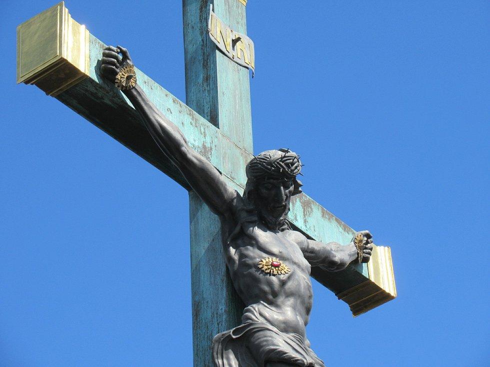 Velikonoční neděle 4. dubna v Písku.