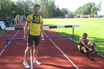 Chyšecký atlet Patrik Bouška.