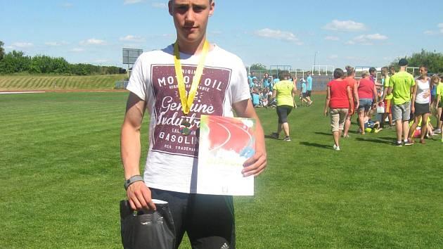 Zástupci chyšecké atletiky se zúčastnili Republikové soutěže ČASPV v atletickém víceboji.