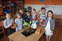 Ve školce v Oslově se děti připravovaly na Velikonoce