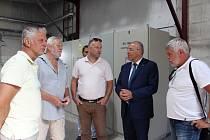 Písecká teplárna zahájila provoz nového plynového kotle na Výtopně Samoty.