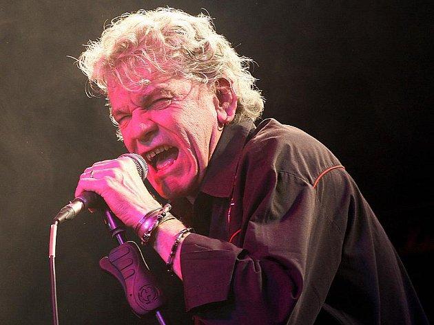 Koncert legendární britské rockové skupiny Nazareth v Písku.