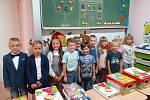 První školní den v ZŠ Kluky.