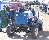 Traktoriáda v Boudách.