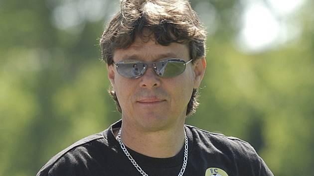 Na snímku je Rostislav Grossmann, trenér fotbalových dorostenců FC Písek kategorie U19.