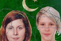 Češky unesené v Pákistánu - Hana z Písku (vlevo) a Antonie z Kladenska.