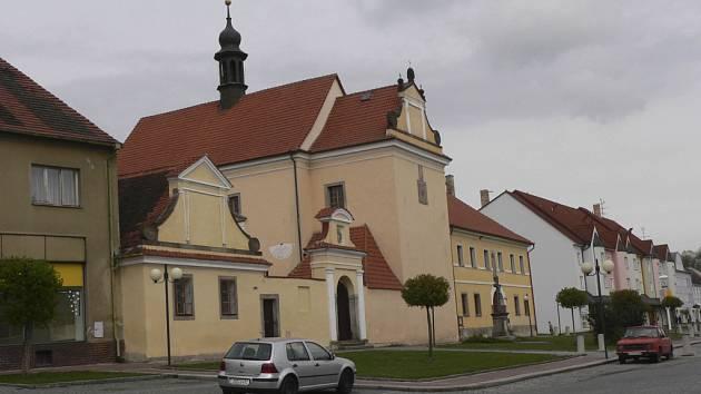 Město Protivín využije dotaci k rekonstrukci památkově chráněné kaplanky v areálu kostela  sv. Alžběty Portugalské.