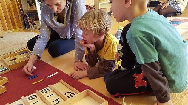 Ilustrační foto. Montessori.