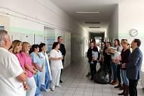 Charitativní příspěvek Dětskému oddělení písecké nemocnice.