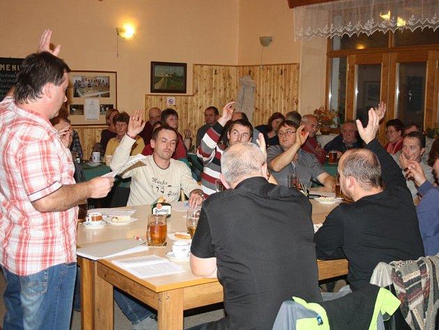 Ustavující zasedání v Čimelicích.