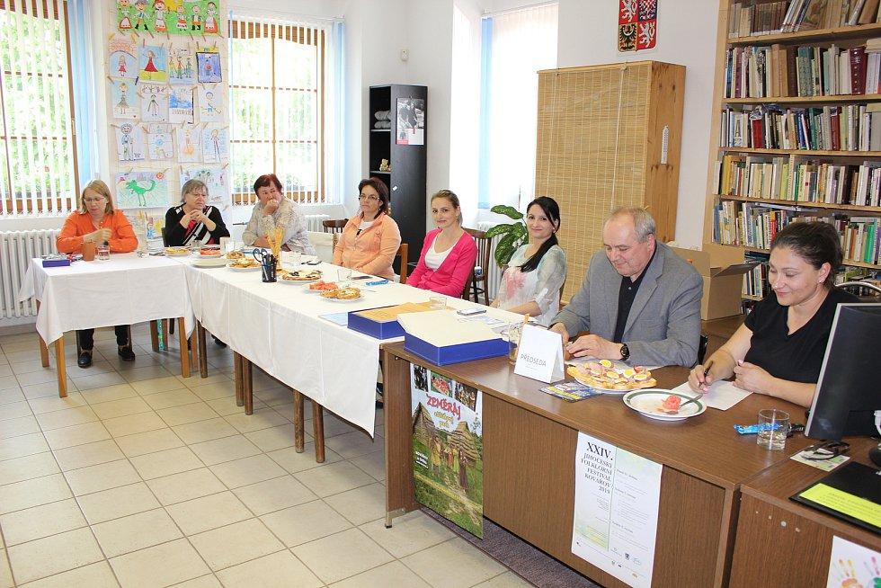 Volby do Evropského parlamentu v Kovářově.