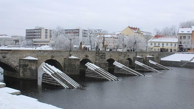 Písek, Kamenný most. Ilustrační foto
