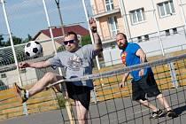 Nohejbalový turnaj trojic v Čížové.