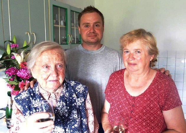 Marie Koutenská oslavila devadesátiny.