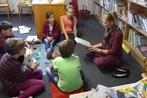 Noc s Andersenem v dětské knihovně v Mirovicích