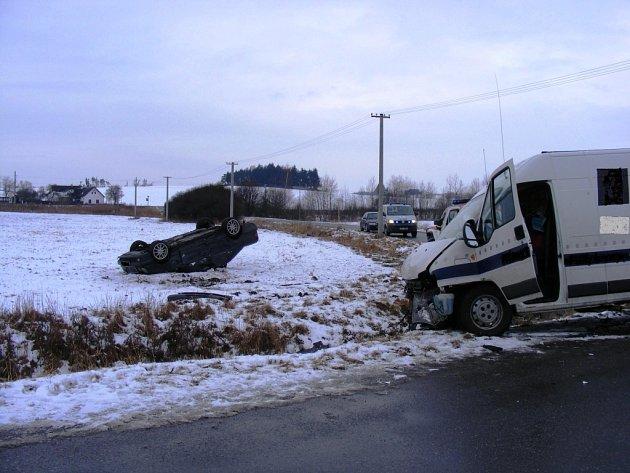 Nehoda u Smrkovic.