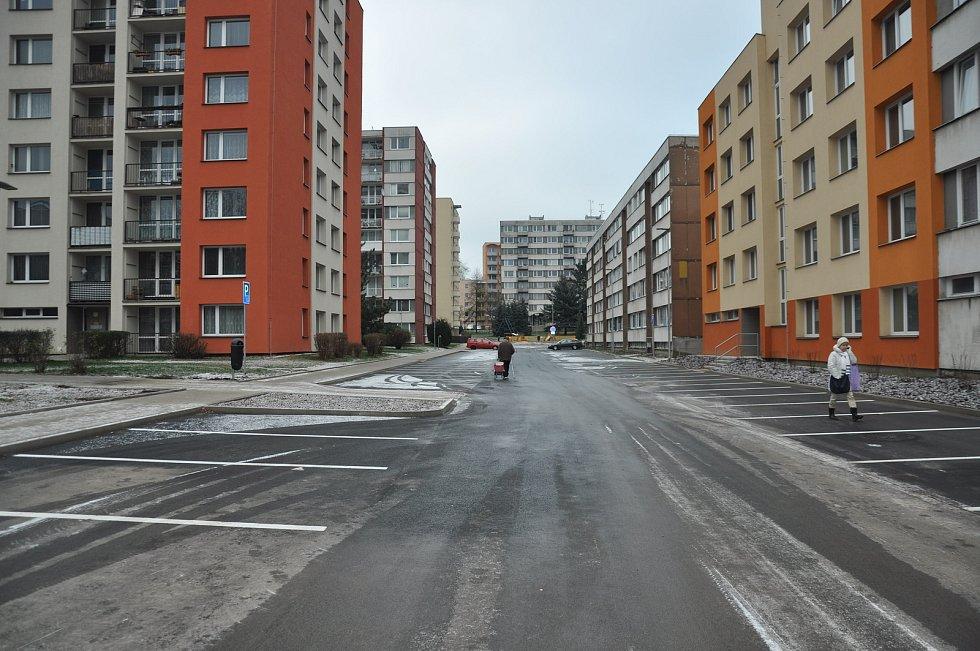 Truhlářská ulice před rekonstrukci a slavnostní otevření.